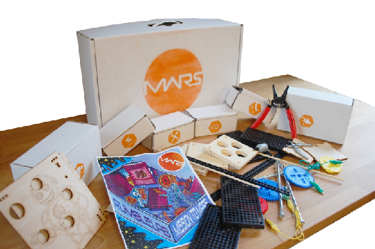 Mission to Mars crate product photo